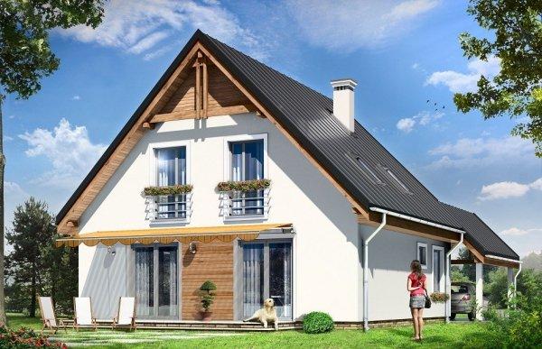 Projekt domu Jaś pow.netto 122,6 m2