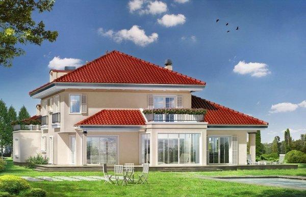 Projekt domu Malibu pow.netto 336,1 m2