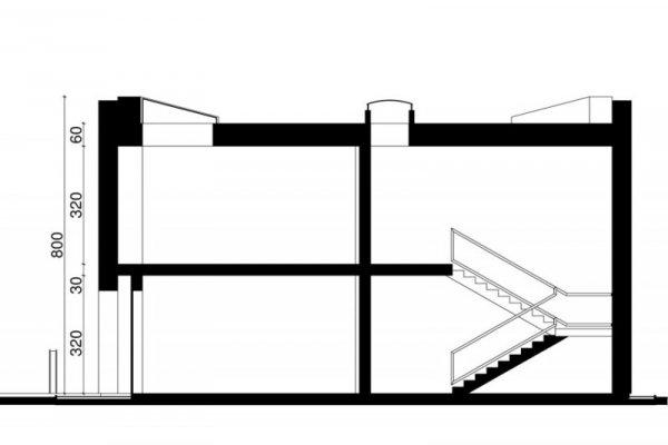 Projekt biurowca PS-BP-280-20 o pow. 593,17 m2