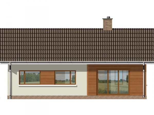 Projekt domu TK109L