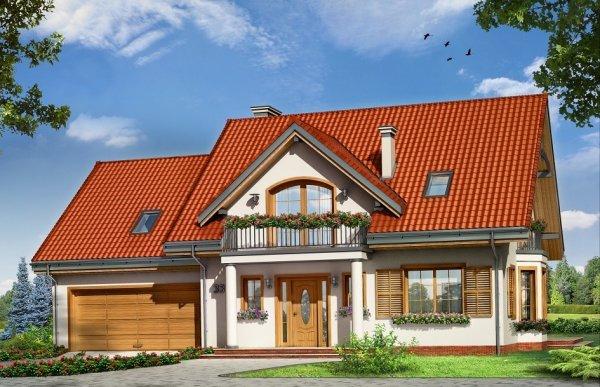 Projekt domu Julka III pow.netto 149,02 m2