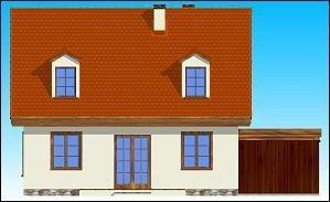 Projekt domu Bajkowy pow.netto 104,05 m2