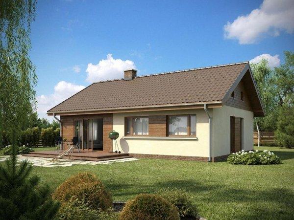 Projekt domu TK109