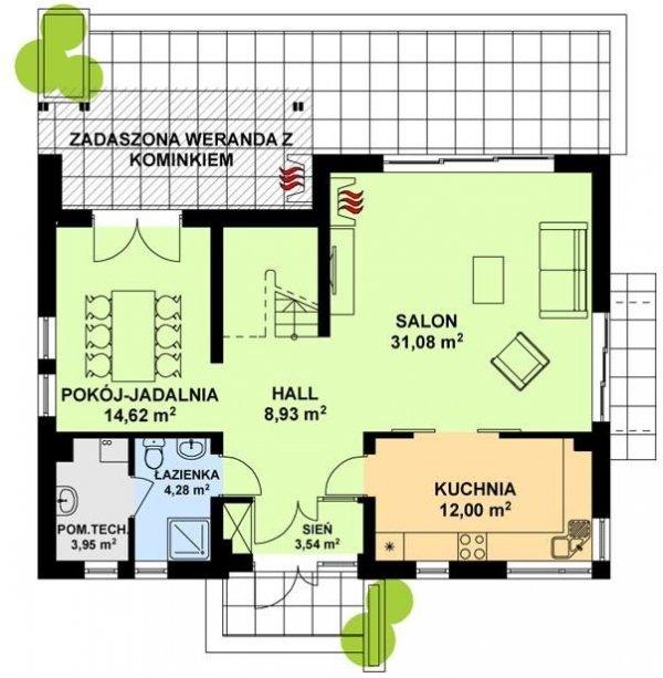 Projekt domu TK23
