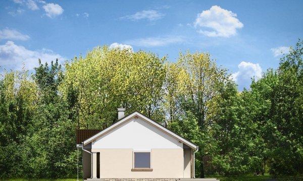 Projekt domu Cypisek 2 pow.netto 81.75 m2