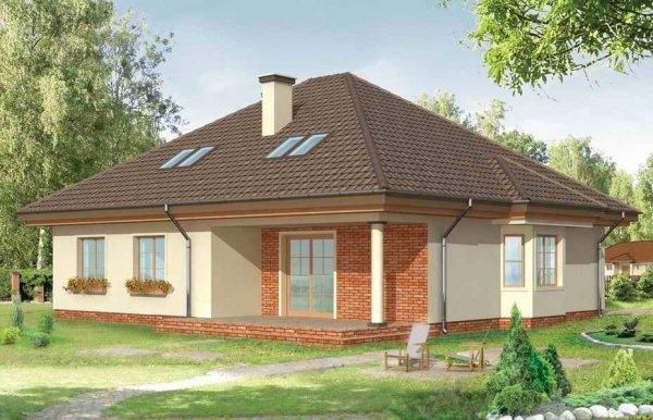 Projekt domu Natalia pow.netto 171,38 m2