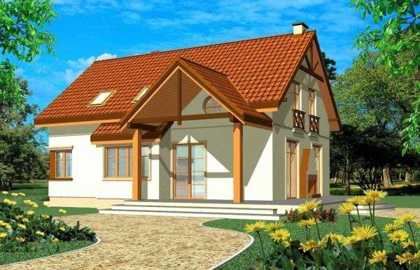 Projekt domu Wiosenny pow.netto 169 m2