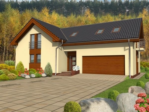 Projekt domu Teneryfa B