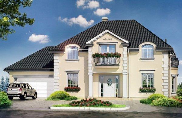 Projekt domu Magnat pow.netto 228,04 m2