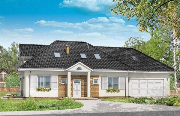 Projekt domu Magnolia pow.netto 140,5 m2
