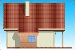 Projekt domu Chatka pow.netto 67,2 m2