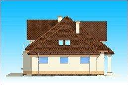 Projekt domu Faworyt II pow.netto 229,18 m2