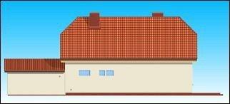 Projekt domu Krzysztof pow.netto 162,9 m2