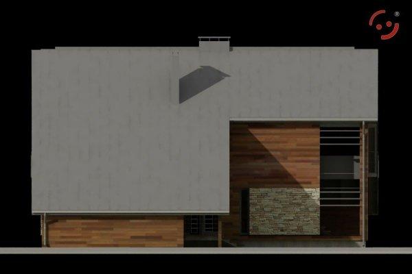 Projekt domu nowoczesnego TEC160-20G pow. 251,75 m2