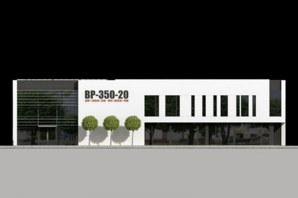 Projekt biurowca PS-PB-350-20
