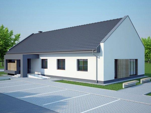 Projekt energooszczędnej przychodni zdrowia MŁODOŚĆ o pow. 226 m2