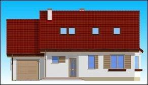 Projekt domu Zgrabny pow.netto 135,68 m2