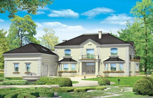 Projekt domu Regent pow.netto 610,12 m2