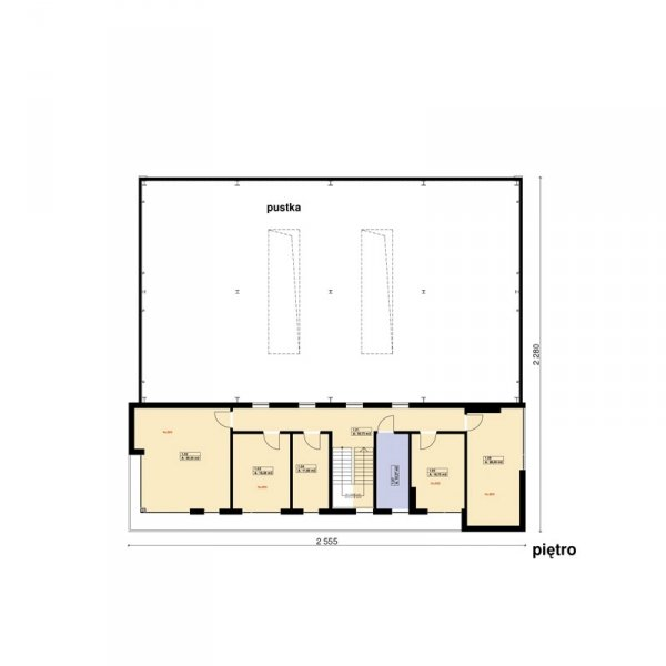 Projekt warsztatu samochodowego PS-SS-W3 pow. 650 m2