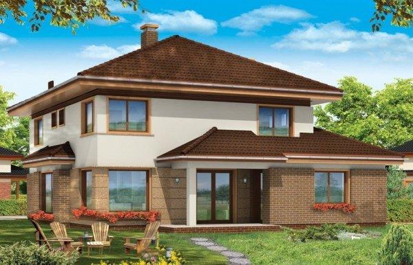 Projekt domu Sonet pow.netto 223,07 m2
