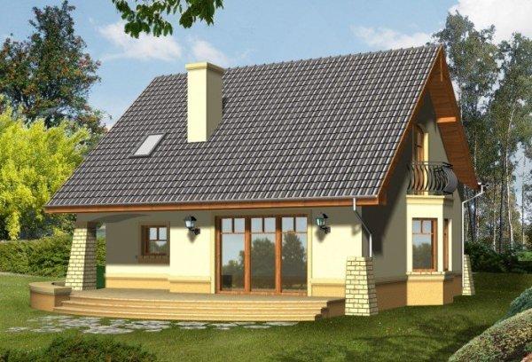 Projekt domu BELLA