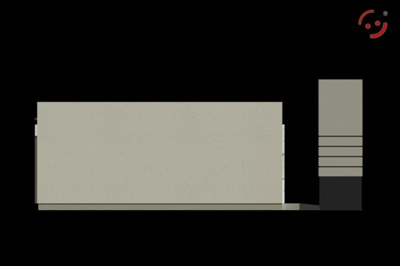 Projekt budynku handlowo usługowego PS-SA-V1