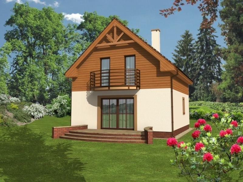 Projekt domu Istria B