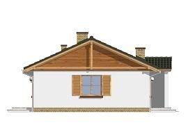 Projekt domu Promyk pow.netto 113 m2
