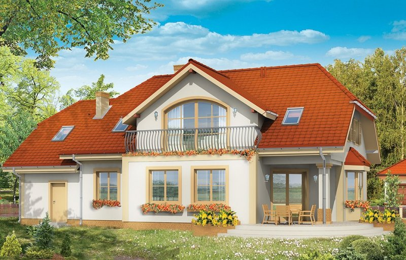 Projekt domu Fokus pow.netto 213,74 m2