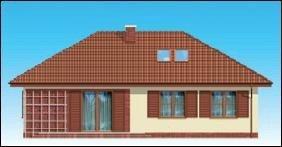 Projekt domu Dominik pow.netto 112,81 m2