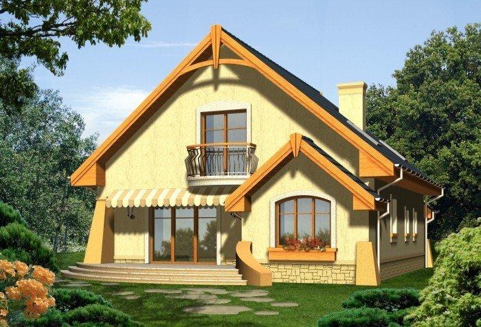 Projekt domu RÓŻA WIATRÓW