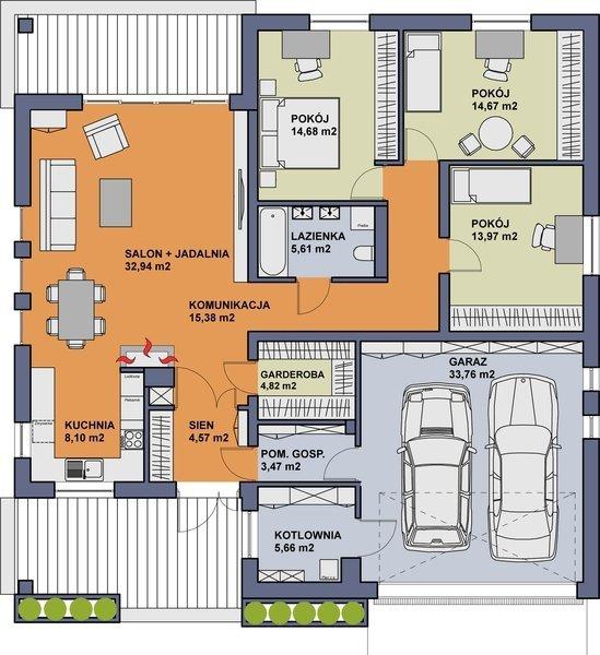 Projekt domu TK28