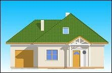 Projekt domu Mazurek II pow.netto 139,33 m2