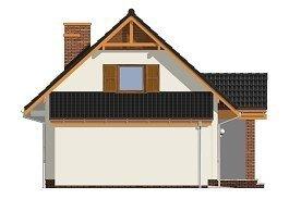 Projekt domu Radosny z garażem pow.netto 112,99 m2