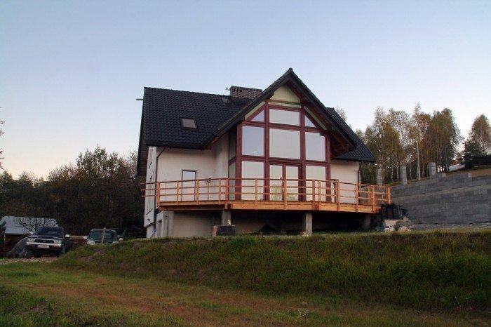 Projekt domu pasywnego greenSpace 209