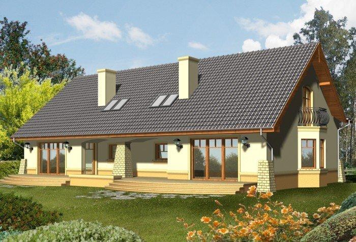Projekt domu BELLA 2