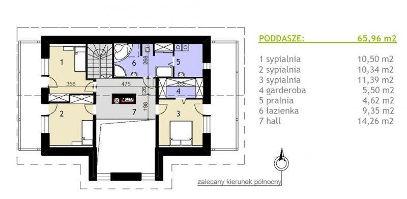 Projekt domu pasywnego greenSpace 169