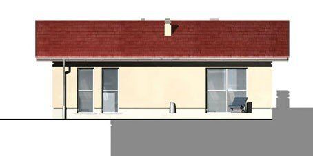 Projekt domu parterowego DM15 pow. 81,6 m2 + AKTUALNA WYCENA GRATIS