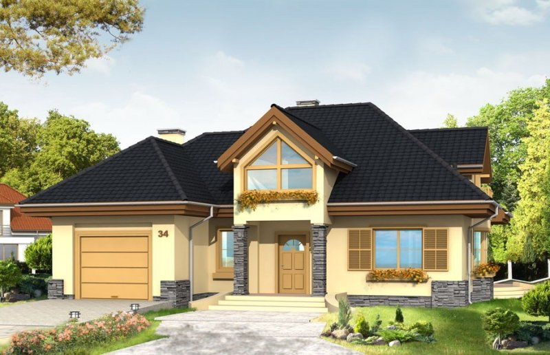 Projekt domu Maja pow.netto 203,57 m2