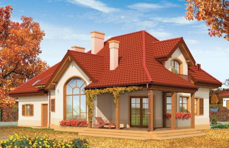 Projekt domu Rubin pow.netto 205,57 m2