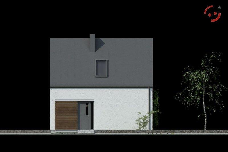 Projekt domu nowoczesnego OO4015 pow. 62,89 m2