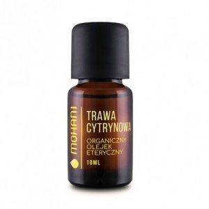 Mohani Organiczny olejek eteryczny z trawy cytrynowej 10ml