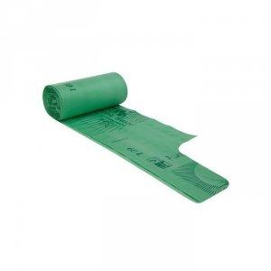 BioBag Worki na odpady organiczne i zmieszane w 100% biodegradowalne i kompostowalne 60L rolka 20 sztuk