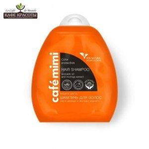 Cafe mimi - szampon do włosów - ochrona koloru - 95% składników naturalnych