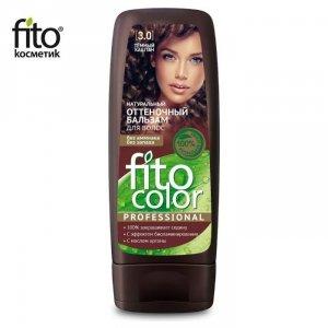 Naturalny balsam KOLORYZUJĄCY do włosów - CIEMNY KASZTAN 3,0 - FITO COLOR