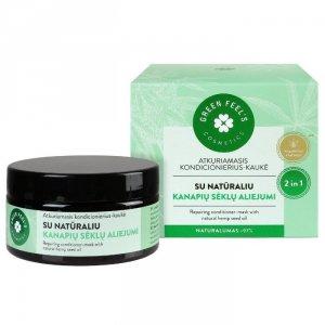 Regenerująca odżywka-maska do włosów z naturalnym olejem z nasion konopii 200ml GREEN FEEL'S