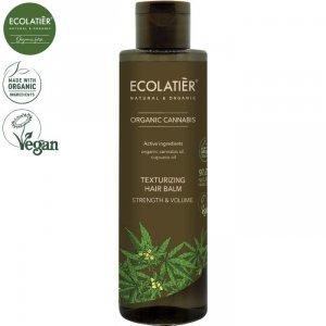 CANNABIS Teksturyzujący Balsam do włosów MOC I OBJĘTOŚĆ, 250 ml ECOLATIER