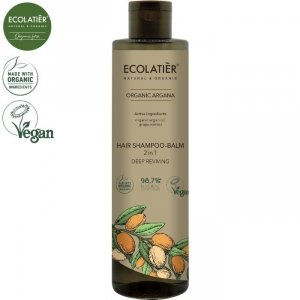 ARGAN Szampon-balsam do włosów 2w1, 350 ml ECOLATIER