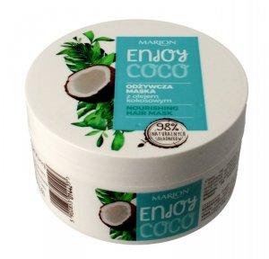 Marion Enjoy Coco Odżywcza Maska do włosów z olejem kokosowym  200ml