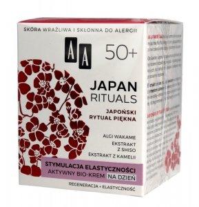 AA Japan Rituals 50+ Aktywny Bio-Krem na dzień - stymulacja elastyczności  50ml